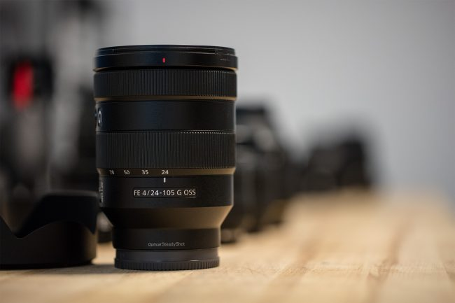 Sony 24-105mm MTF Testing