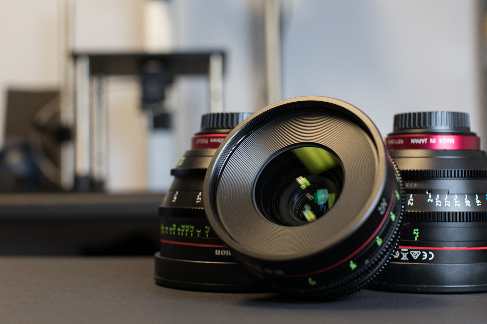 Color Shifts in Cine Lenses