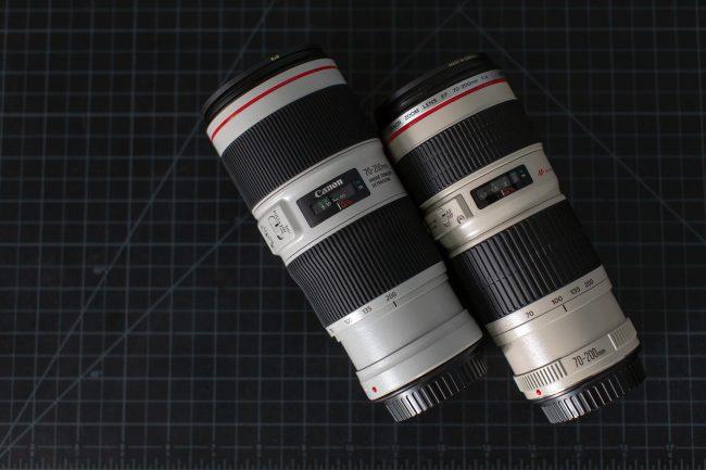 Canon 70-200mm f/4 MTF Test