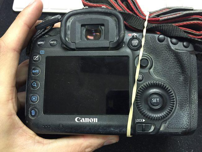 Burning Man Camera Destroyed