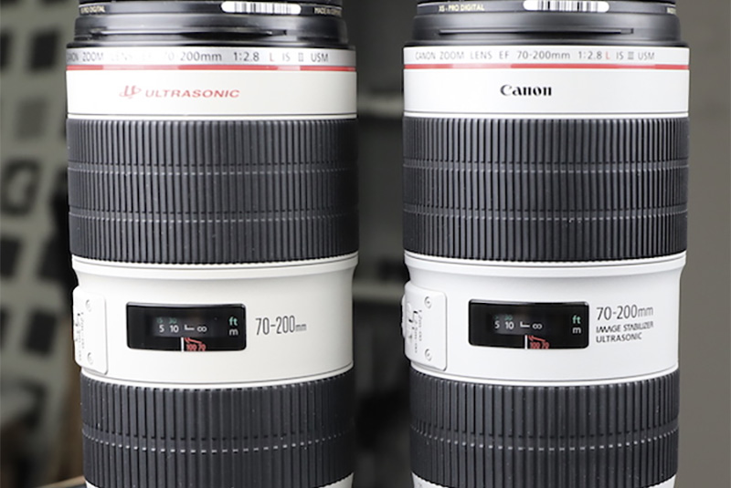 Canon 70-200mm f/2.8 IS III teardown