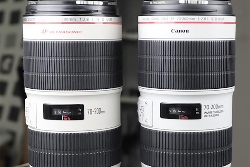 Canon 70-200mm f/2.8 IS III teardown
