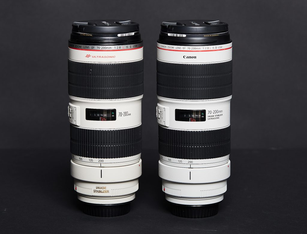 Canon 70-200mm f/2.8L IS III Comparison