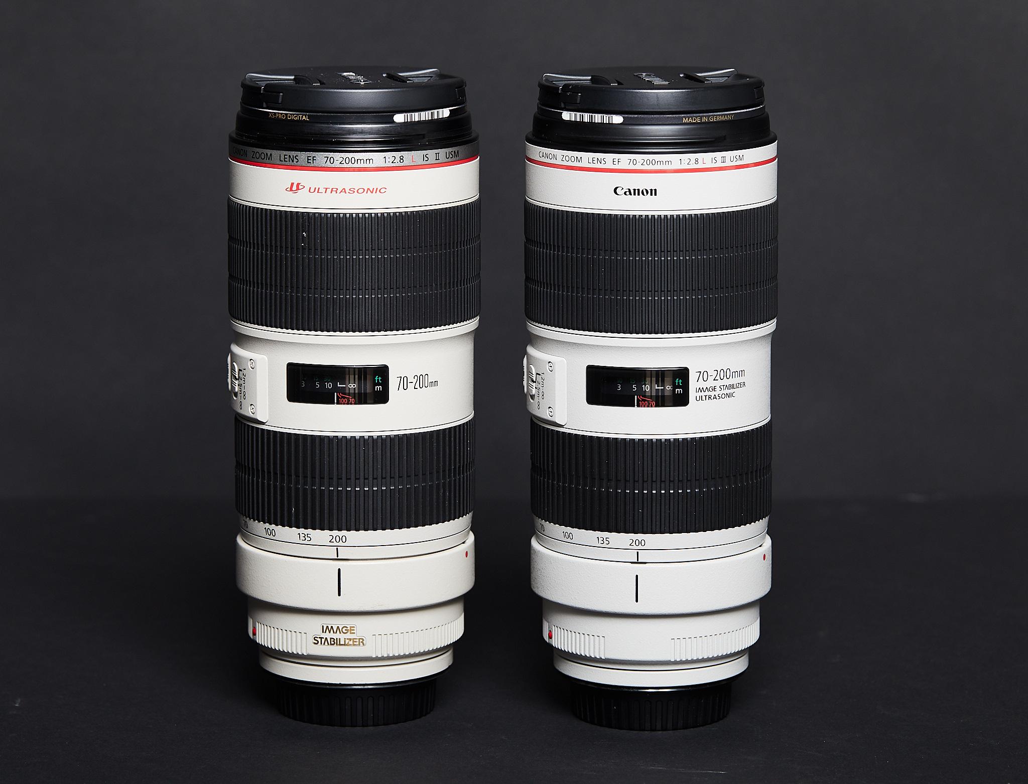 Canon 70 200mm F 28L IS III Comparison
