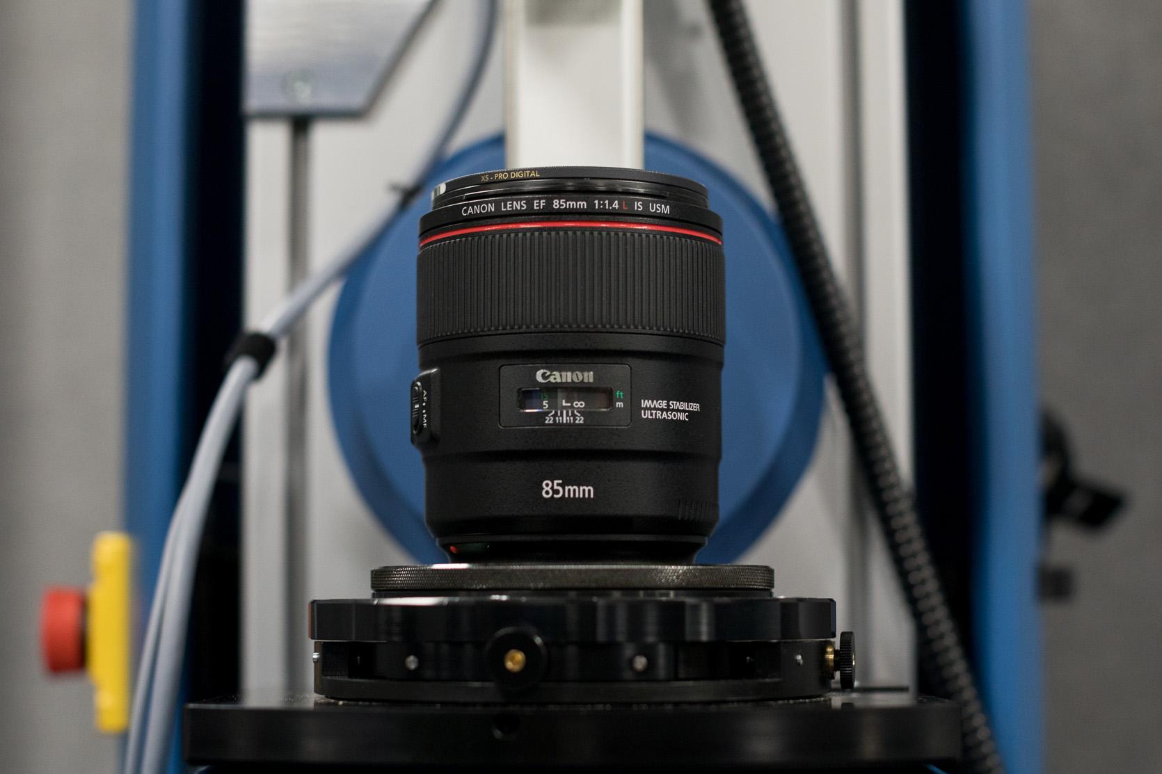 Lens Testing For Sharpness