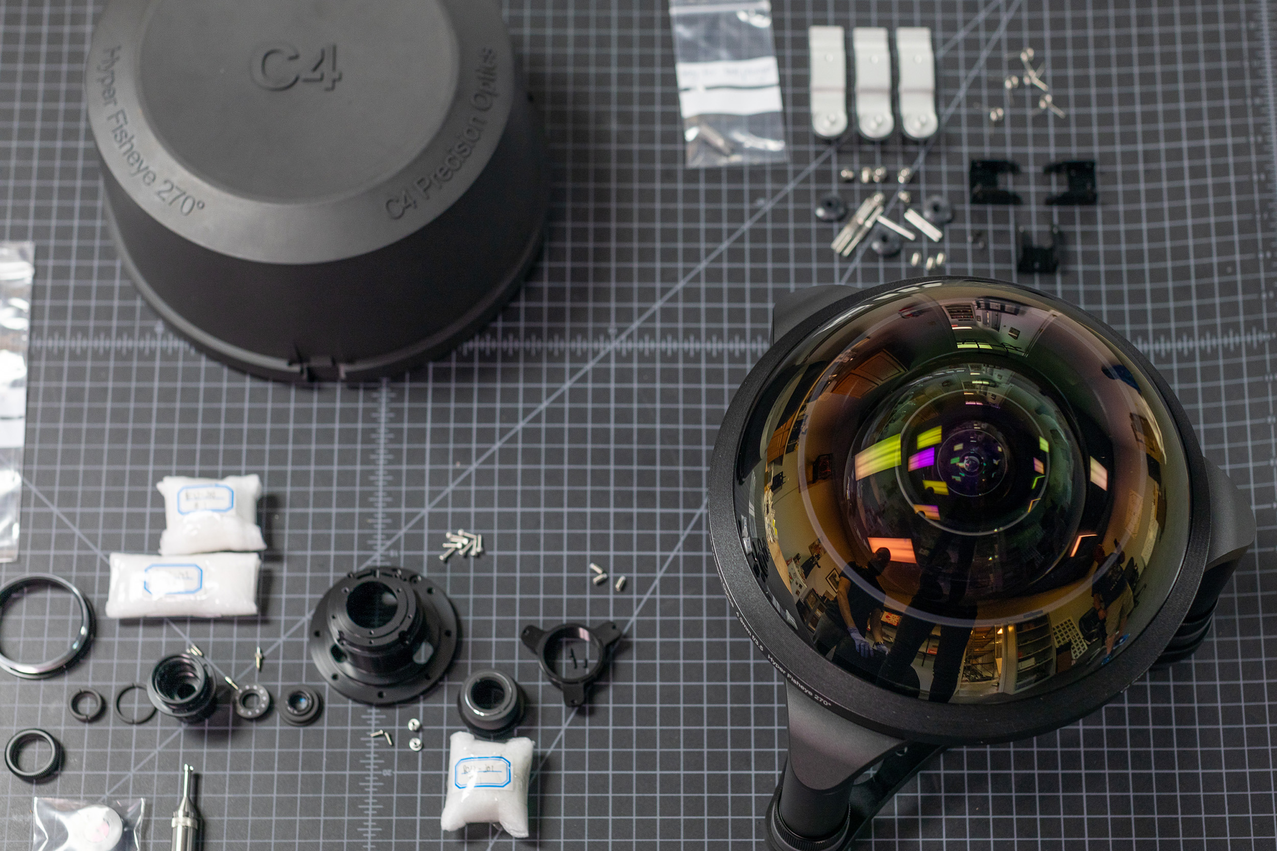 C-4 Fisheye Lens