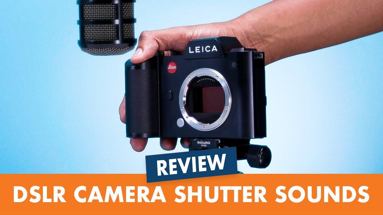 Camera Shutter Sounds