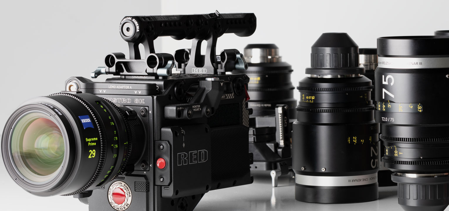 RED Ranger Rental Cinema Camera