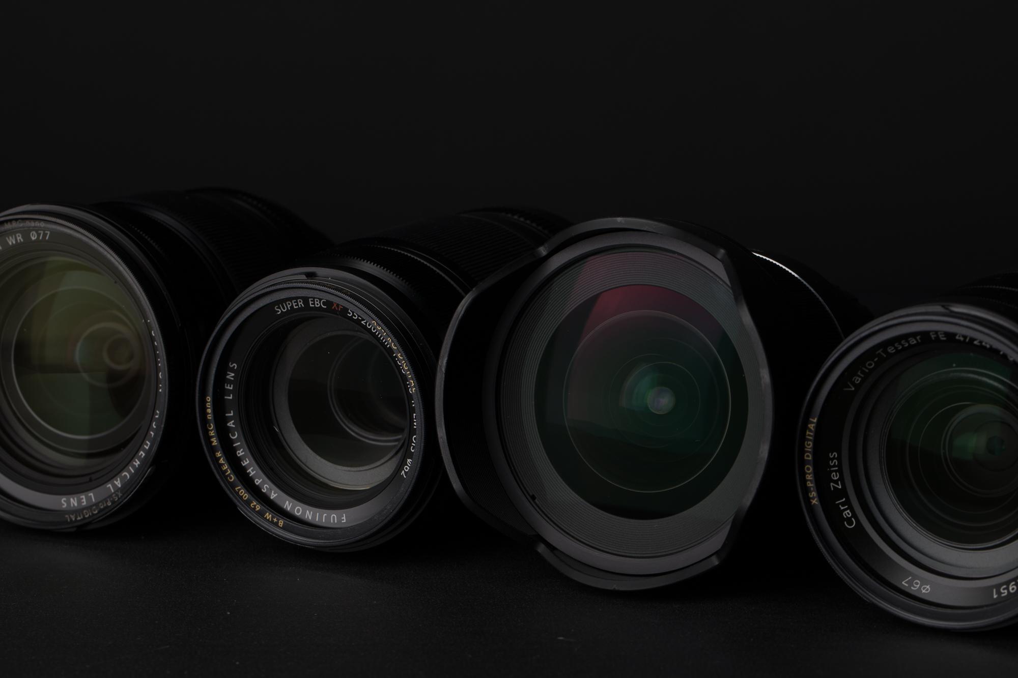 Stopping down Lens