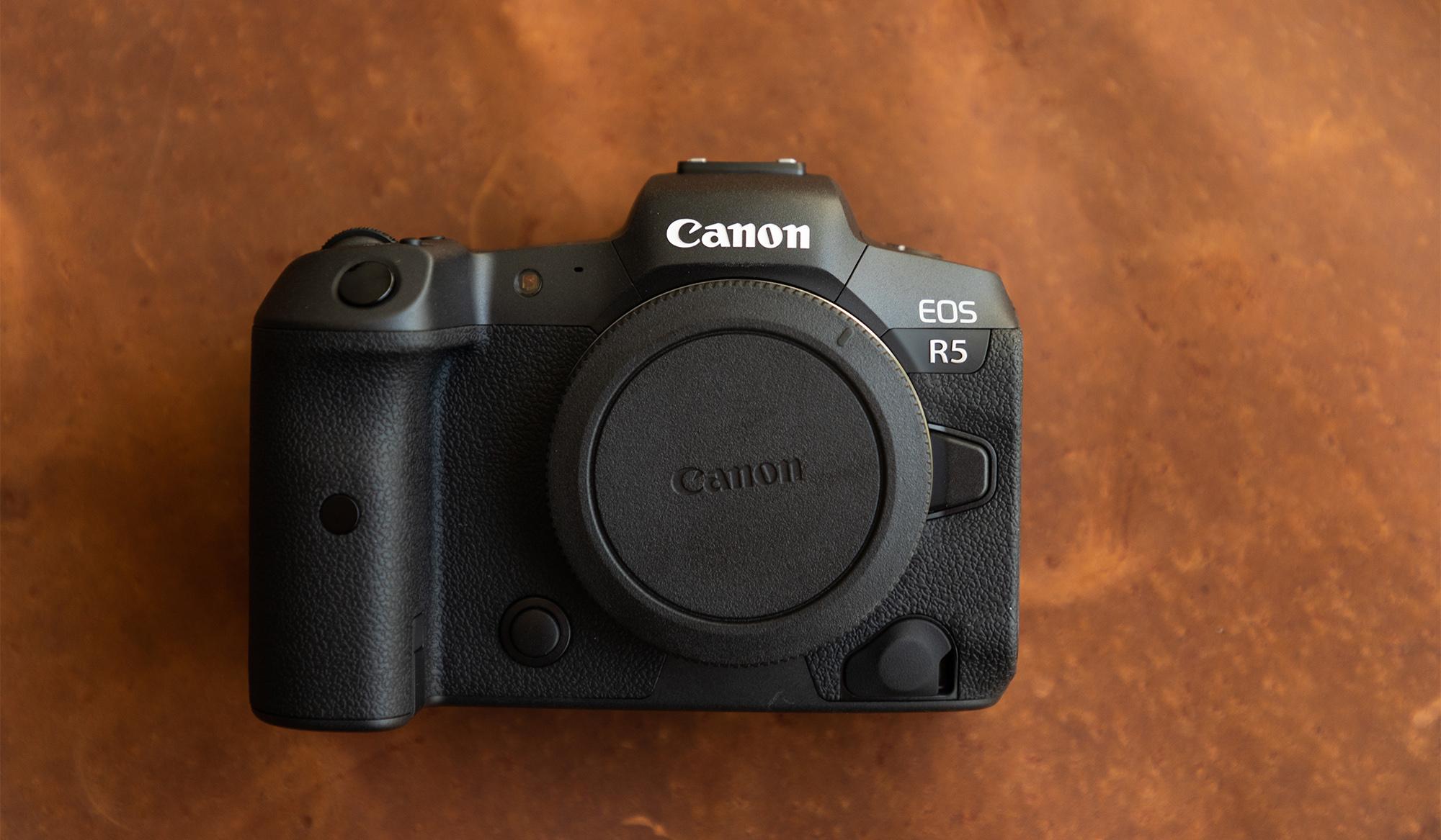 Taking Apart Canon R5