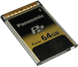 Panasonic P2 64GB F-Series