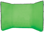 Lastolite 13' Panoramic Background w/ Chroma Key Green Cover