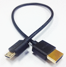 HDMI Male to Mini-HDMI 18in. Ultra-Thin