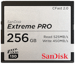 SanDisk 256GB Extreme PRO 525MB/s CFast 2.0
