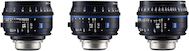 Zeiss Compact Prime CP.3 Wide Angle 3-Lens Set (EF)