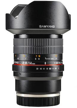 LensRentals com - Rent a Rokinon 14mm f/2 8 for Sony E
