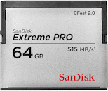 SanDisk 64GB Extreme PRO 515MB/s CFast 2.0