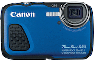 Canon PowerShot D30 Underwater Camera