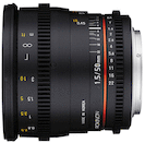 Rokinon 50mm T1.5 AS UMC Cine DS for Canon