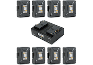 Anton Bauer Dionic XT90 Gold Mount Power Kit 8-Pack