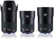 Best of Zeiss Milvus 3-Lens Package for Canon