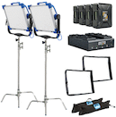 ARRI SkyPanel S30-C LED V-Mount 2-Light Location Kit