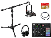 RODECaster Pro Podcast Studio Starter Kit