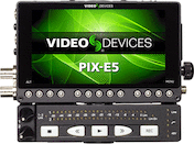 Video Devices PIX-E5 Recorder w/ PIX-LR XLR Audio Interface