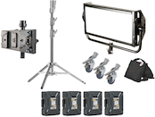 Litepanels Gemini 2x1 LED Soft Panel Gold-Mount Location Kit