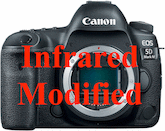 Canon 5D Mark IV IR Modified (850nm)