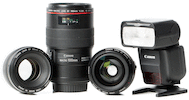 Basic Prime Lens Wedding Kit for Canon
