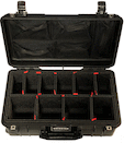 Pelican 1535AirTP Wheeled Carry-On Case w/ Lid Organizer