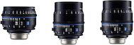 Zeiss Compact Prime CP.3 Telephoto 3-Lens Set (EF)