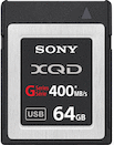 Sony 64GB XQD 400MB/s G Series Memory Card