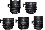Sigma Cine FF Prime Five Lens Kit (Sony E)