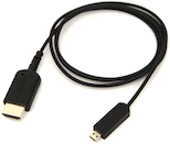 SmallHD Thin 36-inch Micro to Full HDMI Cable for Focus