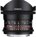 Rokinon 12mm T3.1 Cine DS for Canon