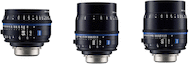 Zeiss Compact Prime CP.3 Telephoto 3-Lens Set (Sony E)