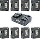 Anton Bauer Dionic XT90 V-Mount Power Kit 8-Pack