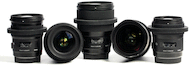 Sigma Art Prime 5-Lens Cine Bundle for Canon