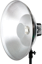 PCB 22-inch High Output Silver Beauty Dish