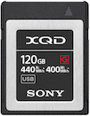 Sony 120GB XQD 440MB/s G Series Memory Card