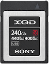 Sony 240GB XQD 440MB/s G Series Memory Card