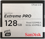 SanDisk 128GB Extreme PRO 525MB/s CFast 2.0