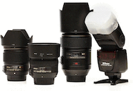 Basic Prime Lens Wedding Kit for Nikon