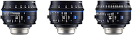 Zeiss Compact Prime CP.3 Wide Angle 3-Lens Set (PL)