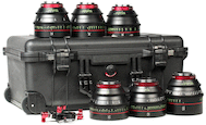 Canon CN-E Cinema Prime Six Lens Kit