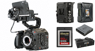 Canon EOS C500 Mark II Premium Kit (Locking EF-C)